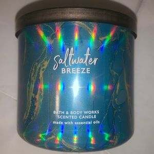 Saltwater 💦 breeze 3Wick candle ✨
